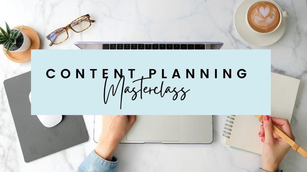contentplanningmasterclass